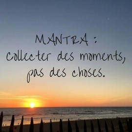 collecter des moments