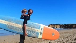 baby surfer - torquay - australie