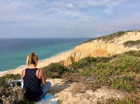Cote ouest portugal, plage de Galé