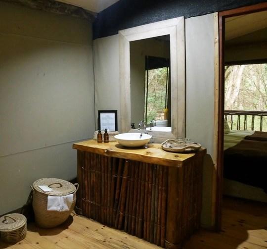 rocktail camp - salle de bain