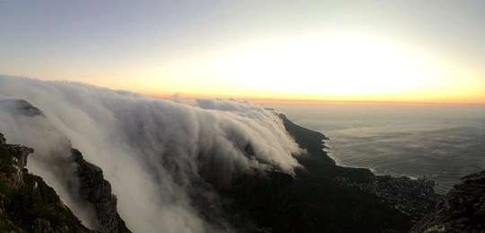 CAPE TOWN TABLE MOUTAIN