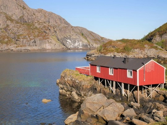 rorbu traditionnel iles lofoten