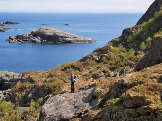 trek lofoten islands nusfjord