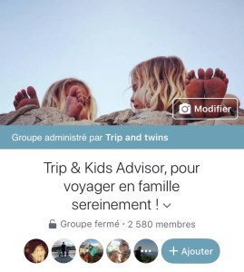 groupe facebook trip and kids advisor