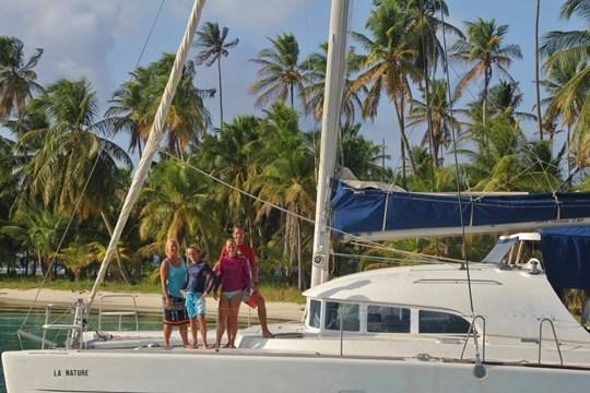 voyager en voilier en famille