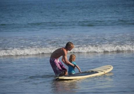 surf playa venao avec enfants