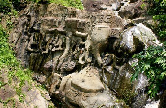 Ganesha at Unakoti