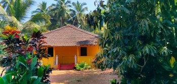 A modest old Goan house