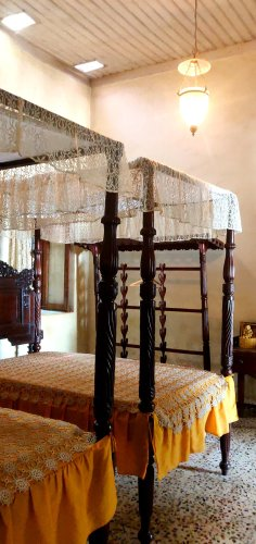 Old Goan bedroom.