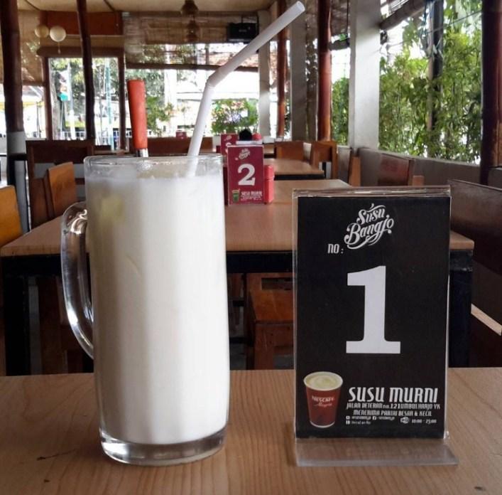 cafe susu di jogja