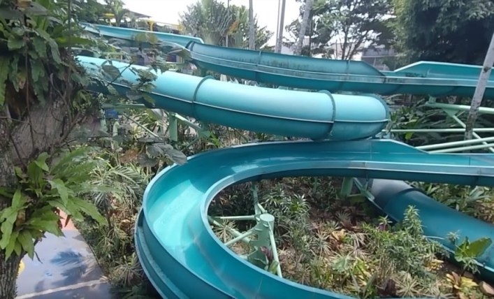tower slide the jungle