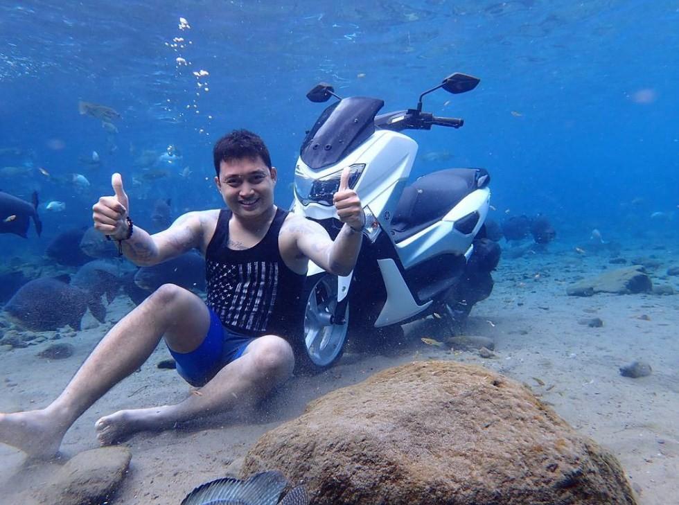 gambar underwater umbul ponggok