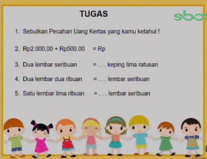 Soal dan Jawaban SBO TV 21 September SD Kelas 2