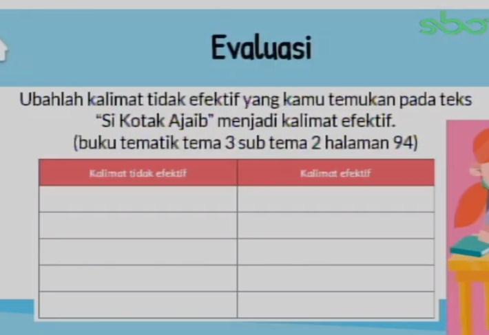 Soal dan Jawaban SBO TV 8 September SD Kelas 6
