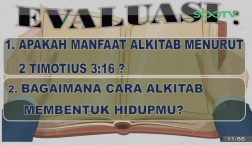 Soal dan Jawaban SBO TV 21 September SD Kelas 6