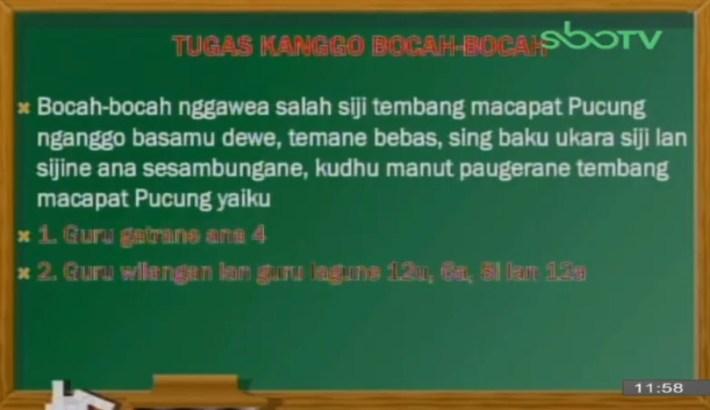 Soal dan Jawaban SBO TV 29 September SD Kelas 6