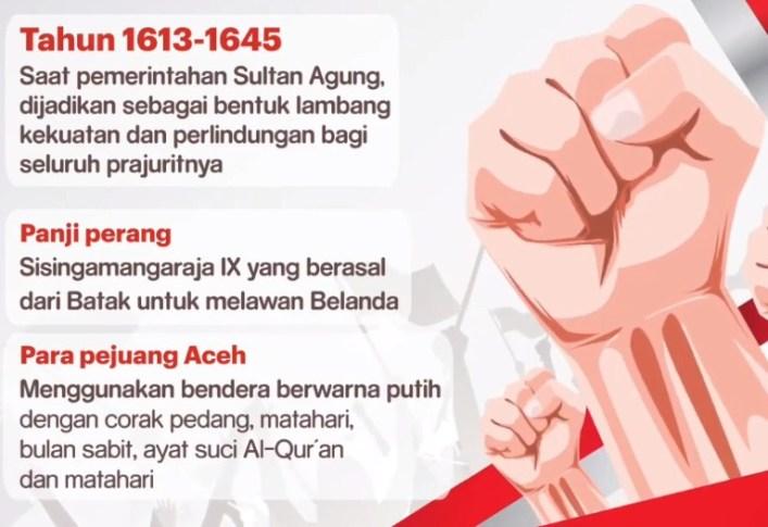 Ceritakan kembali Sejarah Bendera Merah Putih dan Lagu Indonesia Raya dengan bahasamu sendiri!