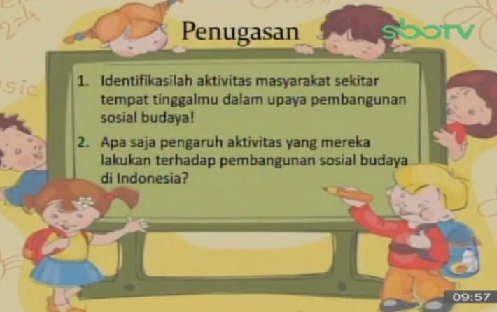 Soal dan Jawaban SBO TV 9 Oktober SD Kelas 5