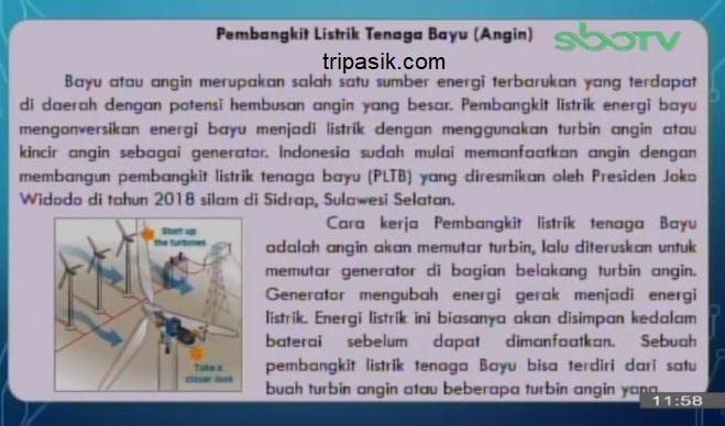 Soal dan Jawaban SBO TV 12 Oktober SD Kelas 6