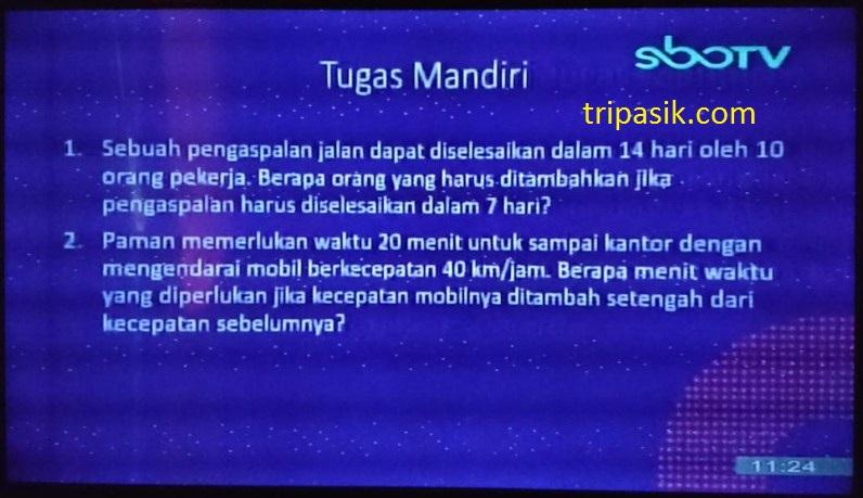 SBO TV 17 November 2020 Kelas 5