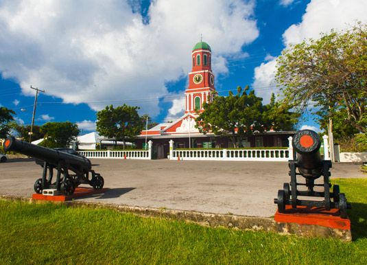 Bridgetown-Barbados canon