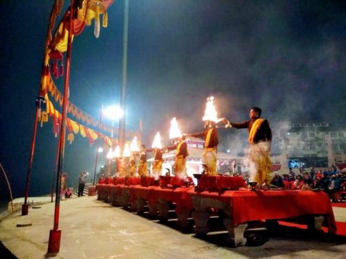 Explore Temples in Varanasi & Evening Ganga Aarti at Dashashwamedh Ghat