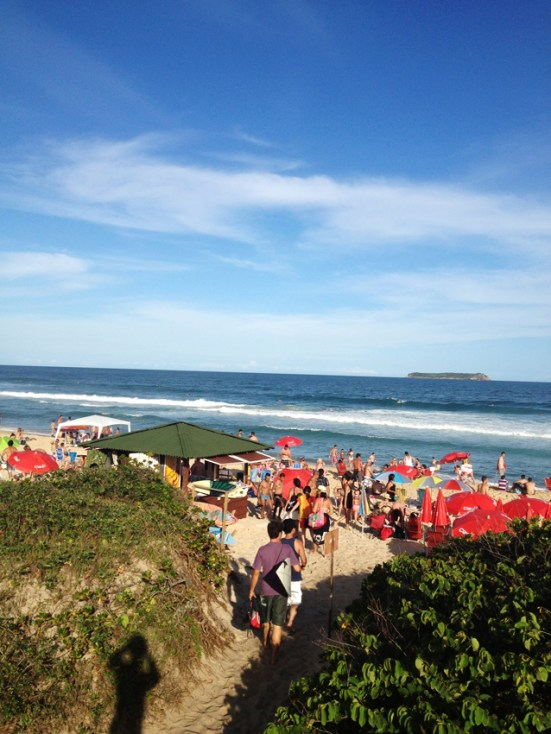 Praia Mole Santa Catarina