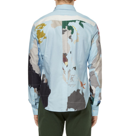 CAMISA MAP BAND OF OUTSIDERS