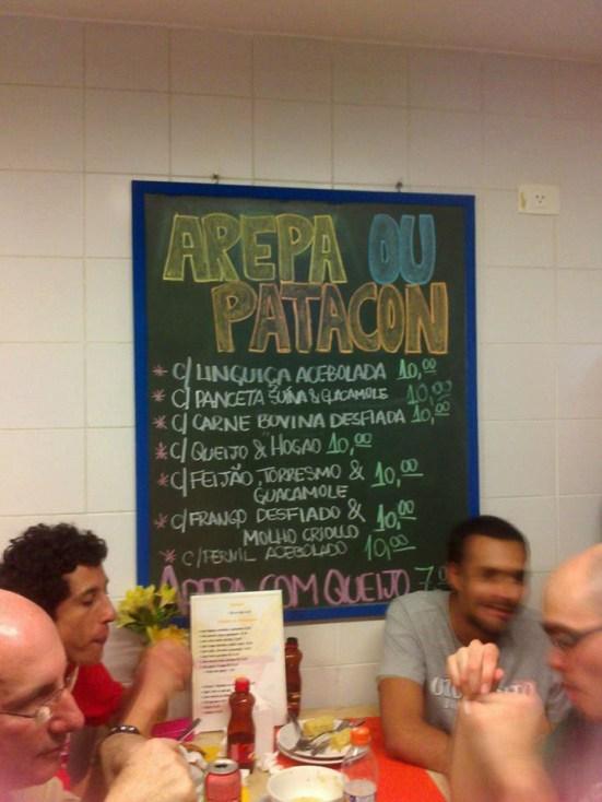 Restaurante Colombiano Sabores de Mi Tierra em São Paulo