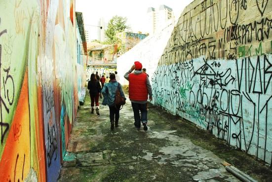Graffitis da Vila Madalena