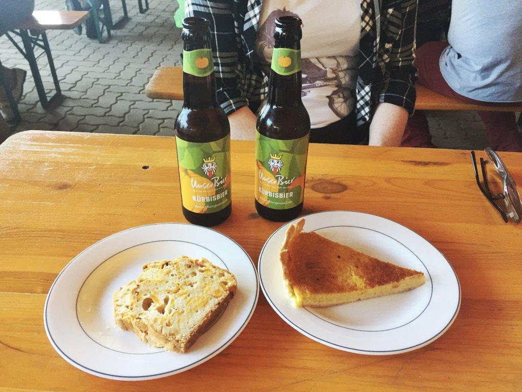 Pumpkin Festival Baselland beer tart