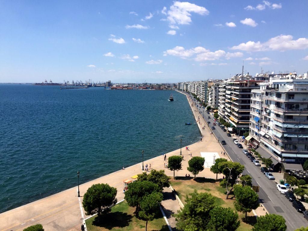 promenade seaview Thessaloniki