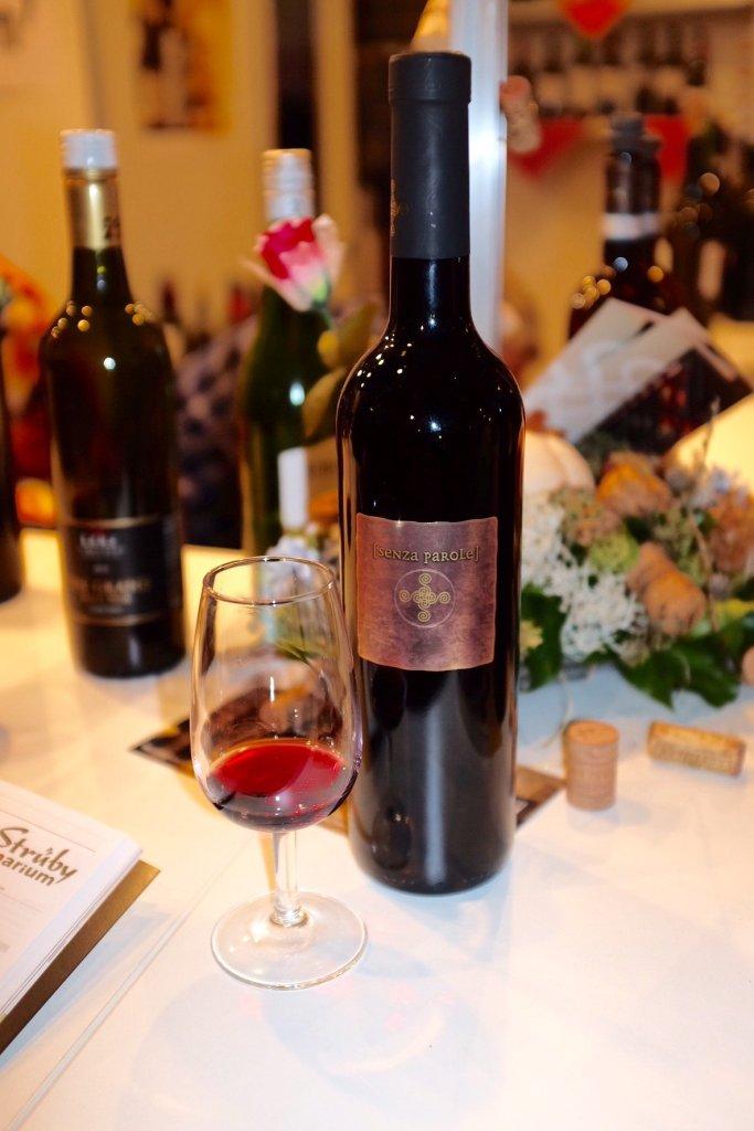 Senza Parole Primitivo Weinmesse Basel