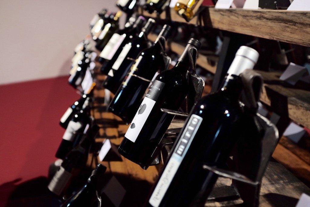 Wine assortment Basel Weinmesse