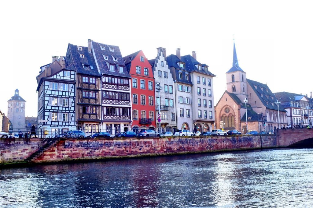 Views over the River Ill, Strasbourg