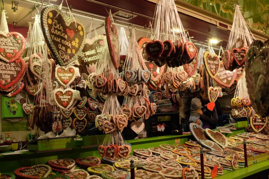 Things to do in Basel - Sweet stall at the Basel Autumn fair