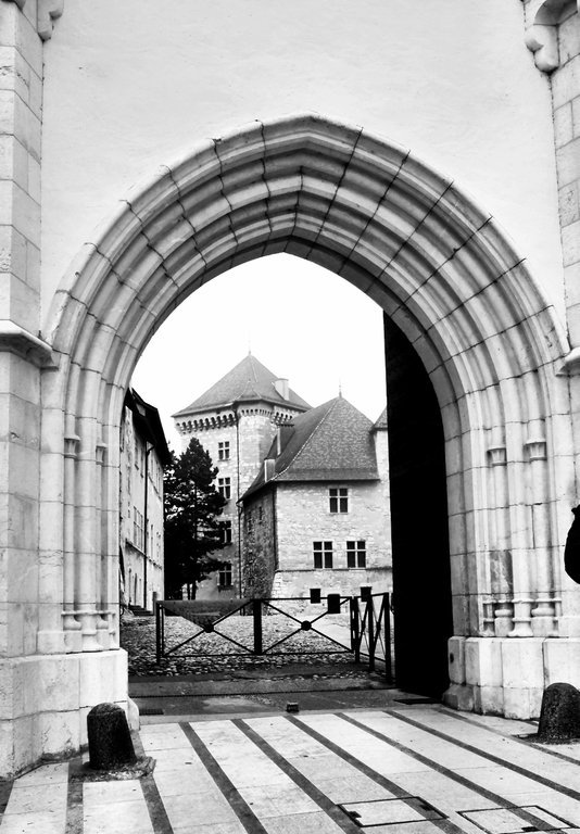 Castle Annecy Gate