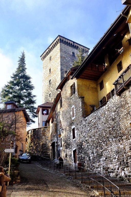 Castle Annecy From Below