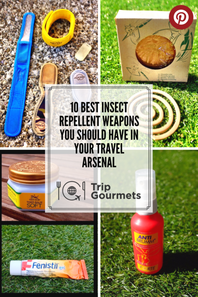 Best insect repellents - best insect repellent Trip Gourmets Pinterest