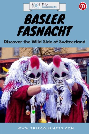 Basler Basel Fasnacht Pinterest