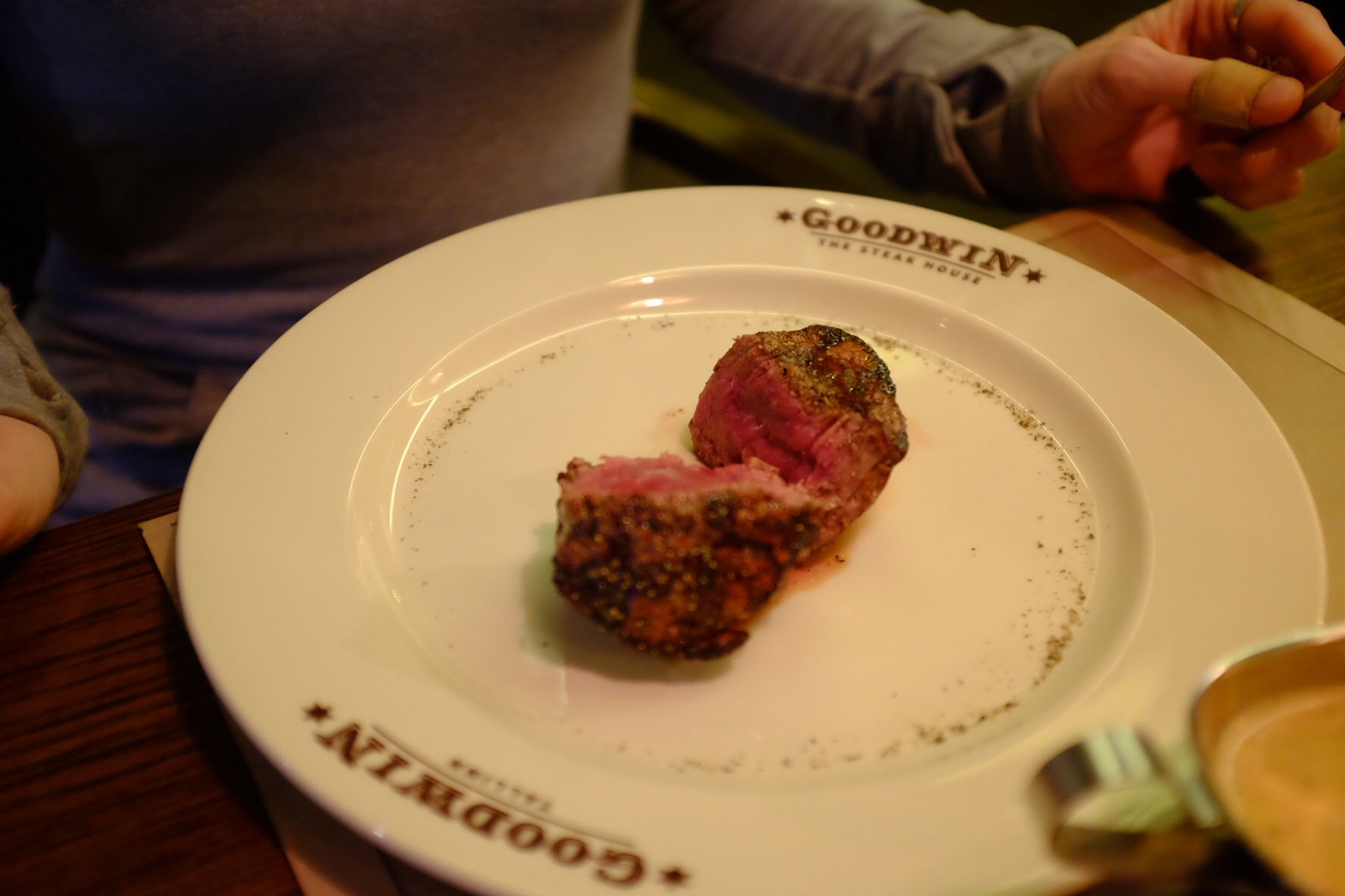 Beefsteak at the Goodwin in Tallinn