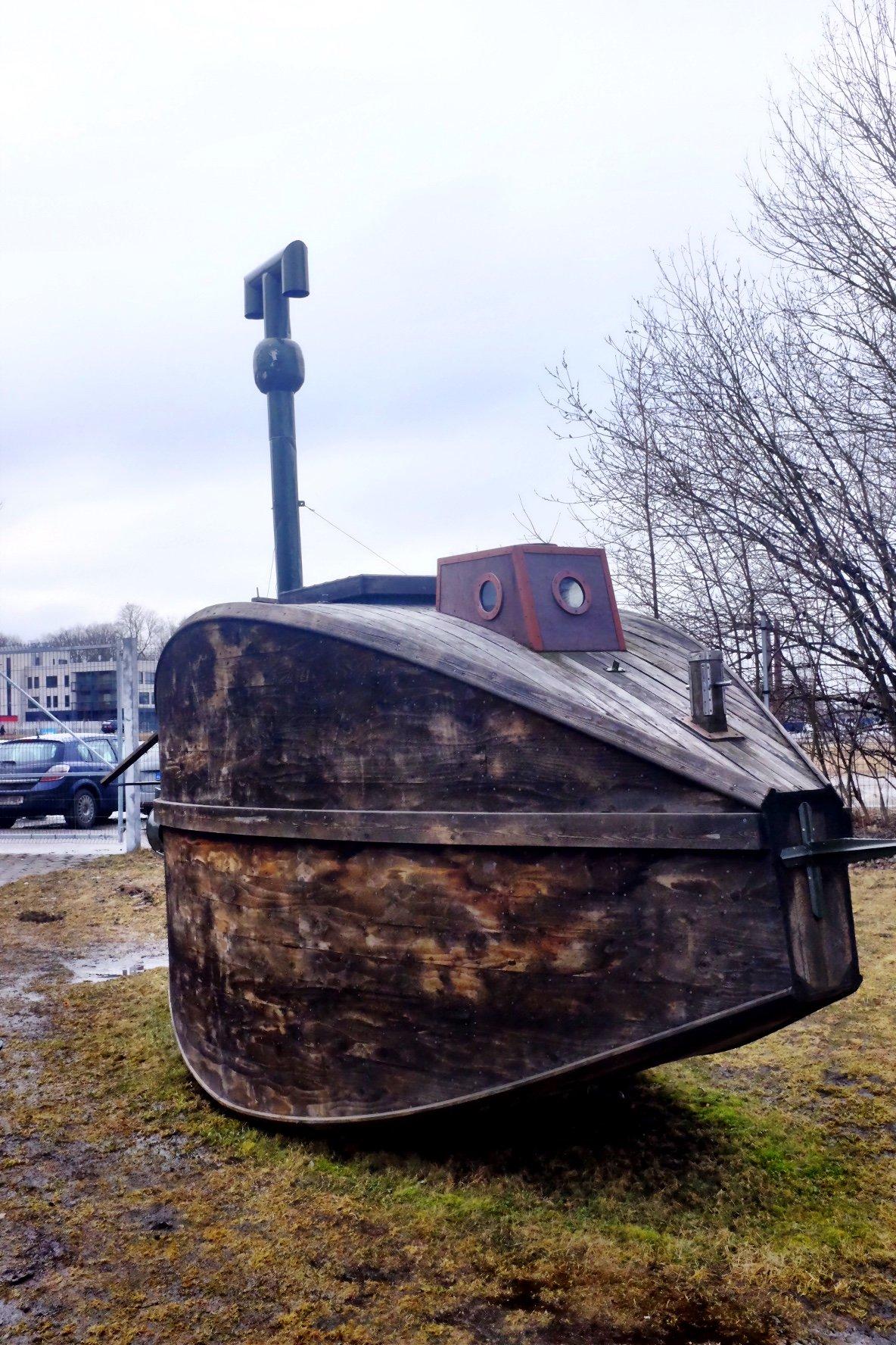 First submarine ever build in Tallinn