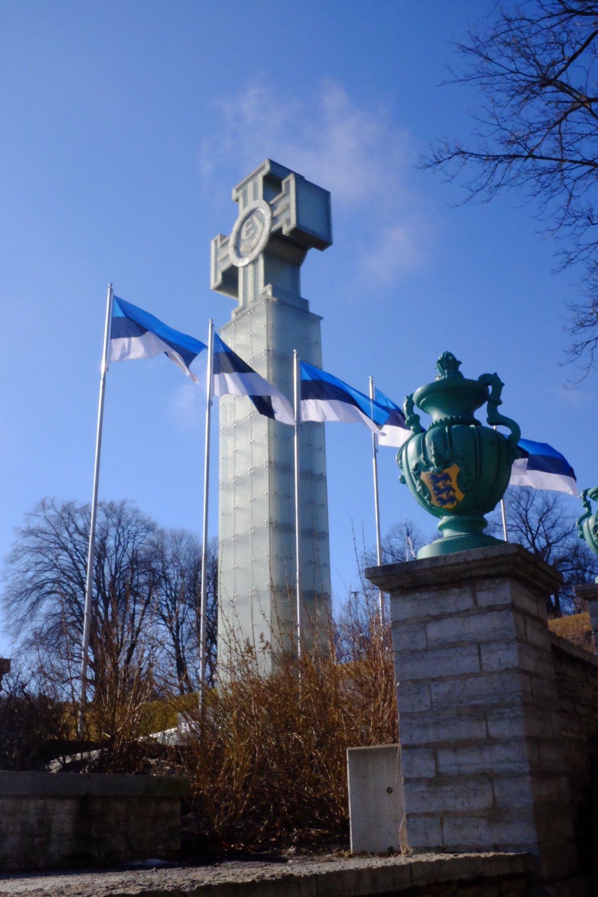 Freedom Cross in Tallinn