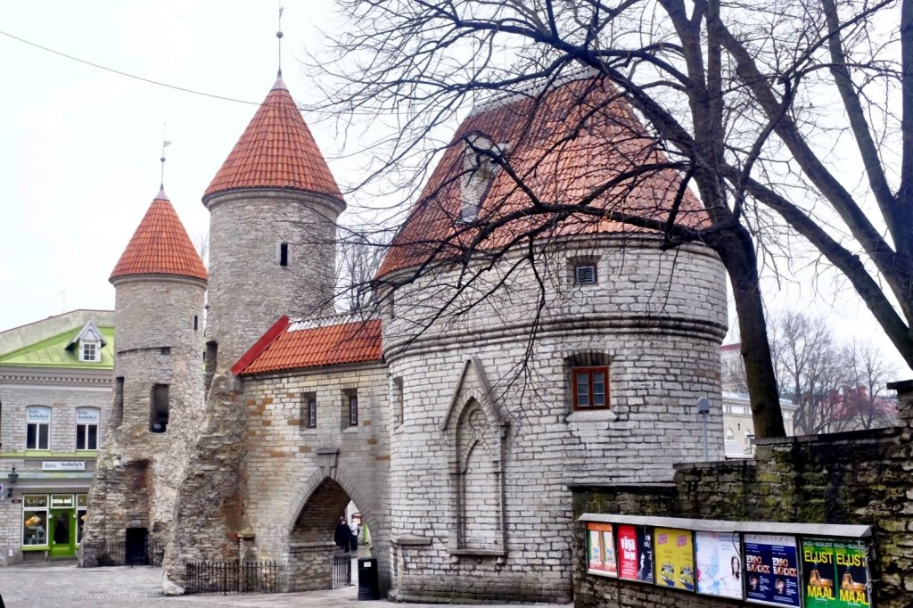 Frontgate Tallinn at day