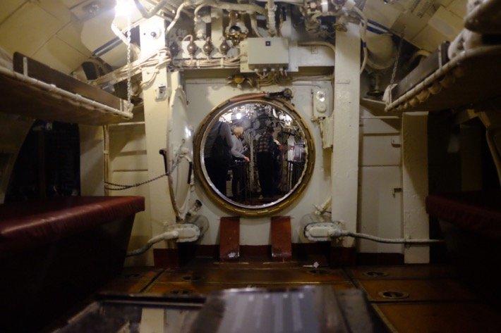 Submarine Interieur at the Seaplane Harbour Museum in Tallinn