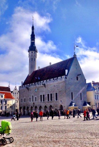 Tallinn city break Weekend in Tallinn Tallinn Town Hall by day