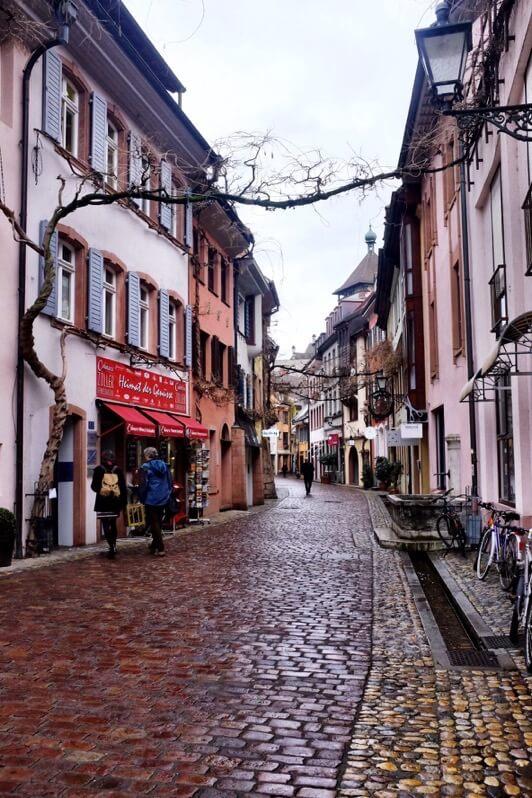 Alley in Freiburg