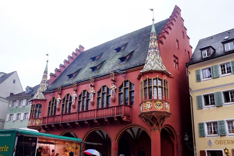 Things to do in Freiburg Germany merchant's hall