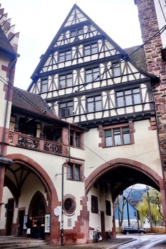 Pretty building in Freiburg