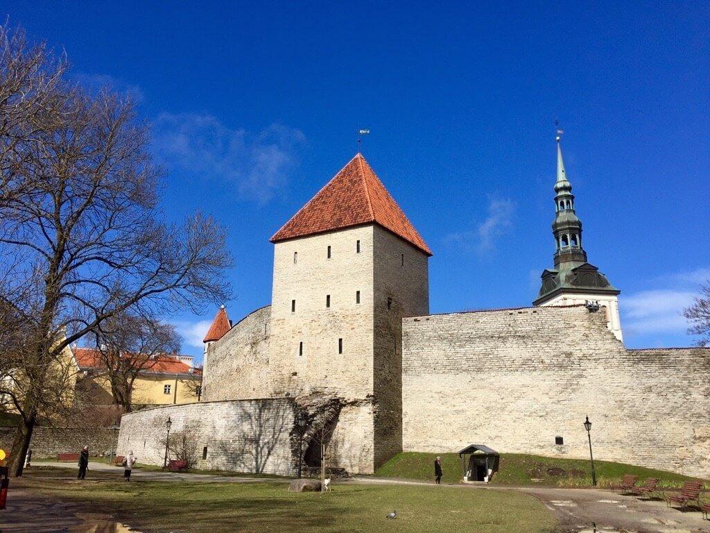 City walls Tallinn